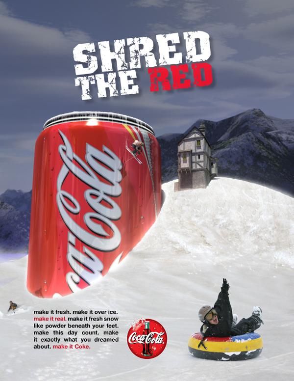 CokeShredTheRed